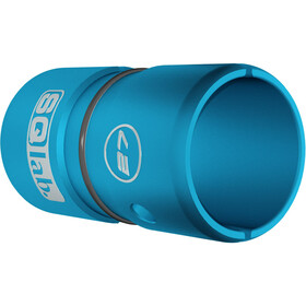 SQlab Lenkerhülse Alu 27,0 auf 31,8 mm eloxiert blauw